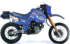 Yamaha Paris Dakar Rally | XT 600 TÉNÉRÉ 1985