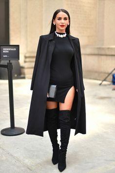 Siyah Elbiseleriniz İçin 5 Farklı Kombin Önerisi - InStyle Türkiye