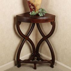 Corner accent table Rustic Antique Look | Ideas for the House ...