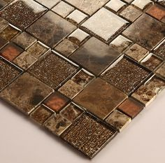 Stone marble mosaic tile crystal glass mosaic tiles kitchen backsplash SGMT050 FREE SHIPPING glass mosaic bathroom wall tiles [SGMT050] - $21.45 : MyBuildingShop.com