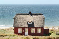 Ferienhaus: Blåvand, Südliche Nordseeküste, Dänemark, 6 personen, See-/Meerblick, Kamin/Holzofen, Haus-Nr: 82298