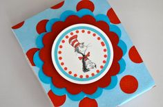 Party Favor Dr Seuss Lollipop Boxes by ThePolkaDotParty on Etsy