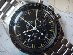 "1966 VINTAGE OMEGA SPEEDMASTER 105.012 ""MAN ON THE MOON"" MODEL CAL 321"