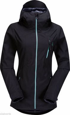 NWT 2015 Volcom Snowboard Women Velocity Womens Jacket Black EQS Fit Small SP995 #VolcomSnow