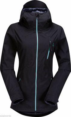 4e565fe24f7b NWT 2015 Volcom Snowboard Women Velocity Womens Jacket Black EQS Fit Small  SP995  VolcomSnow Snowboard