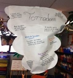 Weather Research - Students work in groups to research various storms, clouds, etc. Teams can then create a model to share with the class!