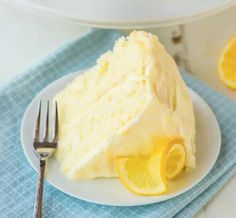 This Lemon Cake Recipe tastes like sunshine on a plate! Moist, fluffy and bursti… This Lemon Cake Recipe tastes like sunshine on a plate! Moist, fluffy and bursting with bright lemon flavor. Slathered in Lemon Cream Cheese Frosting and so dang good! Lemon Desserts, Lemon Recipes, Just Desserts, Baking Recipes, Sweet Recipes, Delicious Desserts, Yummy Food, White Desserts, Health Desserts