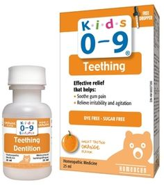Homeocan Kids 0-9 Teething Oral Solution - Orange Flavour $10.99 - from Well.ca