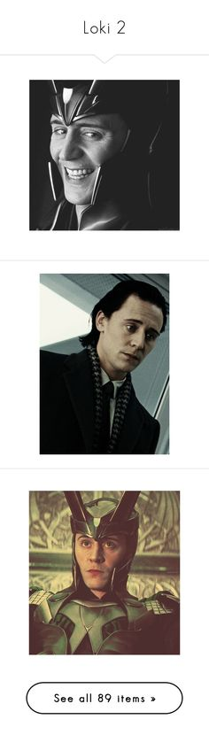 """""""Loki 2"""" by kingcrimson ❤ liked on Polyvore featuring loki, marvel, avengers, tom hiddleston, thor, pictures, people, the avengers, marvel/dc and art"""