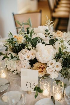 Lush & Romantic Summer Wedding ~ white and ochre color palette for centerpieces Best Picture For wedding decor presidium For Your Taste You are looking for something, and it is going to tell you exact Floral Wedding, Wedding Colors, Wedding Bouquets, Wedding White, Wedding Cakes, Wedding Dresses, Rustic Wedding, Purple Bouquets, Bridesmaid Bouquets