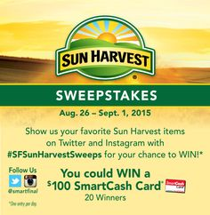 Sun Harvest Sweeps – Smart & Final