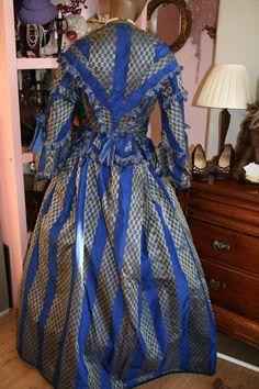 Amazing Antique Victorian Taffeta Jacket and Skirt by SusanHaywardVintage on Etsy