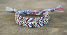 rhinestone friendship bracelet arm candy