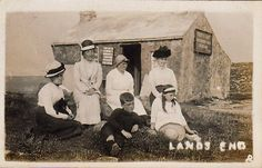 THE ORIGINAL FIRST AND LAST HOUSE | Land's End, Cornwall ✫ღ⊰n