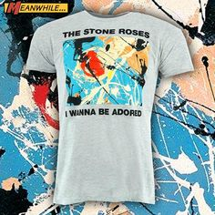 Stone Roses, Mens Tops, T Shirt, Fashion, Supreme T Shirt, Moda, Tee Shirt, Fashion Styles, Fashion Illustrations