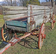 Vintage Farm Wagon