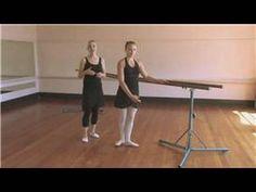 Basic barre exercises: plies, tendus, degages, ronde de jambes, lunge, port de bras arabesque (balanced),staccato frappes, adagio, grand battments.