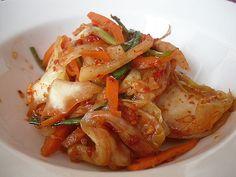 Little Corner of Mine: Green Cabbage Kimchi