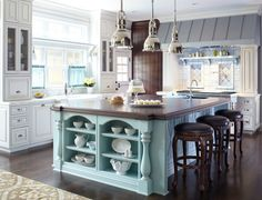 <p>Customize a kitchen island to suit your personal style, and make it even more rewarding to cook and entertain</p>
