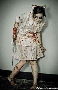 zombie makeup for Halloween - Halloween Costumes 2013