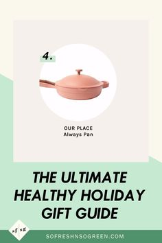 The ultimate healthy holiday gift guide. Every single gift on my gift guide is very carefully thought out and is either something I a) already adamantly use, love and support or b) something on my personal holiday wishlist after plenty of careful research. #giftguide #holidays Healthy Lifestyle Tips, Healthy Habits, Holiday Gift Guide, Holiday Gifts, Clean Diet, Hormone Imbalance, Whole 30 Recipes, Wellness Tips, Feel Good