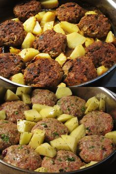 Cookbook Recipes, Cooking Recipes, Easy Recipes, Greek Recipes, Salads, Food Porn, Easy Meals, Beef, Ethnic Recipes