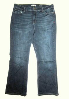 324d7f19a7ee0 Details about WARP + WEFT Jeans  98 Womens PLUS 16 x 30 PDX Portland Bootcut  Boot Dark Wash