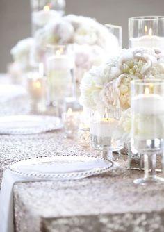 Photographer: Yasmin Khajavi Photography; Wedding reception centerpiece idea;