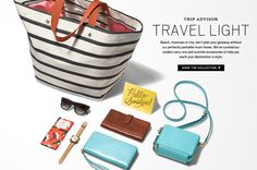 #Fossil packable must-haves. Where will you be traveling to this Summer?