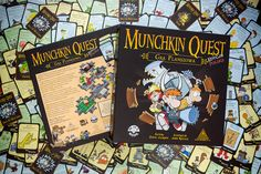 Polish version of Munchkin Quest game for Black Monk Games