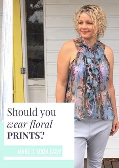 You may think that everyone can wear floral, but that's just not true! We will tell you who SHOULD be wearing floral. If you're not one of those people, don't worry! We will tell you what you should be wearing instead. You'll definitely want to save this fashion guide to your fashion board so you can find it.