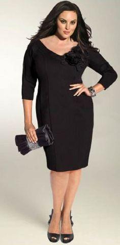 Blackdress, curvywomen, mujeres con curvas, perfecto para la noche, #blackdress #nightdress #curvywomen