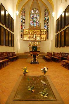Bach's Tomb, St Thomas Church, Leipzig, Travelsignposts photos
