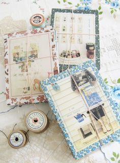 She makes great recycled things like this notebook!