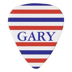 American Stripped Personalized Guitar Pick