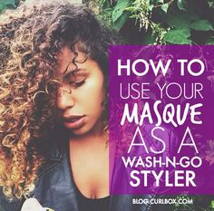 Did you know that you could do a wash-n-go using your SheaMoisture Superfruit Complex 10-n-1 Renewal Hair Masque as a styler? Check it out here:http://bit.ly/1PgpMKy