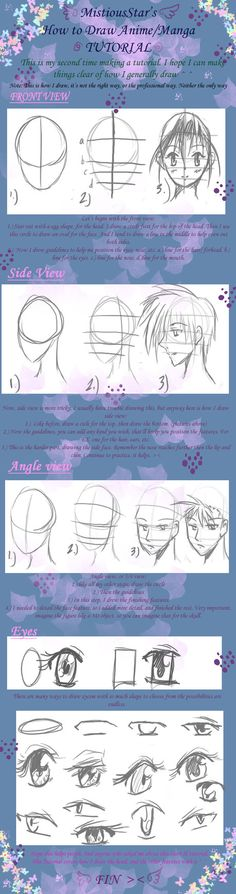 How to draw Manga Tutby *MistiousStar
