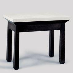 Christian Liaigre, Inc. Zanzibar Side Table  31x18x26
