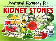 Natural remedy for Kidney Stones