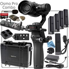 This Kit Includes: 1- #Osmo - Handle 1- Zenmuse X5 1- Osmo - X5 Adapter 1- Osmo Pro - Carrying Case 1- Osmo - Universal Mount 1- Osmo Phone Holder 1- Osmo - DJI ...