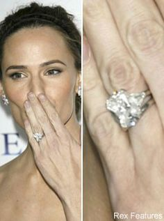 Jennifer Garner, Celebrity Engagement Rings, celebrity photos, Marie Claire
