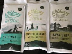 WILDWAY HOT CEREAL - paleo and certified gluten-free