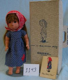 Original Poor Pitiful Pearl doll by William Steig, Mom bought me one of these because she said I liked to pout.