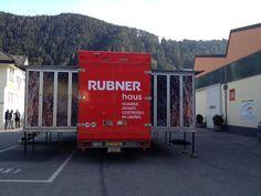 Il Rubner Truck si prepara a ricevere i primi ospiti del press tour