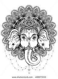 Resultado de imagen para ganesha mandala