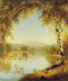 SANFORD ROBINSON GIFFORD, SUMMER IDYLL, 1860