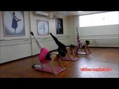 BALLET FITNESS - Ep 02 - Abdominais - YouTube