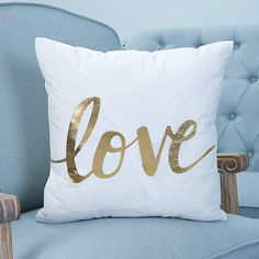 Silver Home Accessories Couch - Gold Love Quote Throw Pillow Christmas Cushion Covers, Christmas Cushions, Christmas Pillow, Gold Throw Pillows, Modern Throw Pillows, Linen Pillows, Accent Pillows, Decor Pillows, Sofa Throw