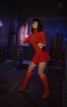 Cute Cosplay, Amazing Cosplay, Cosplay Outfits, Best Cosplay, Cosplay Girls, Sexy Outfits, Sexy Velma, Velma Scooby Doo, Chica Fantasy