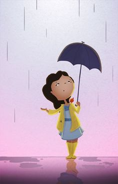 Rain & Boots Illustration